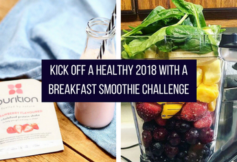 6 Day Breakfast Smoothie Challenge
