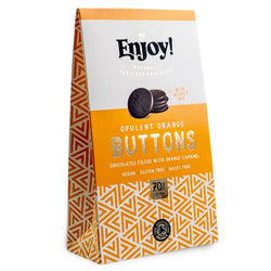 Chocolate Orange Buttons
