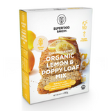 Organic Lemon & Poppy Loaf Mix