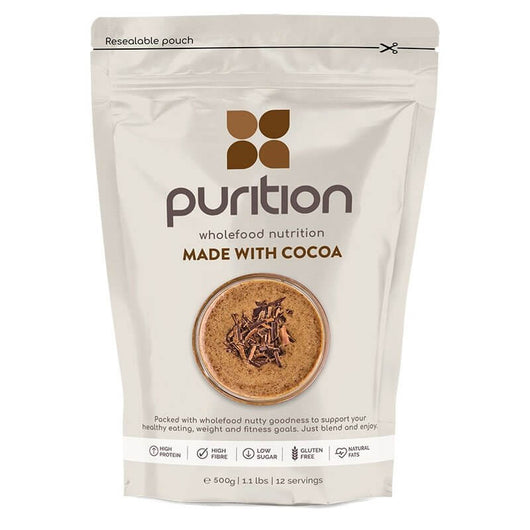 Purition Chocolate nutrition malta