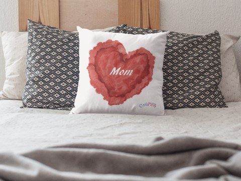 Mom Heart Pillow Gift