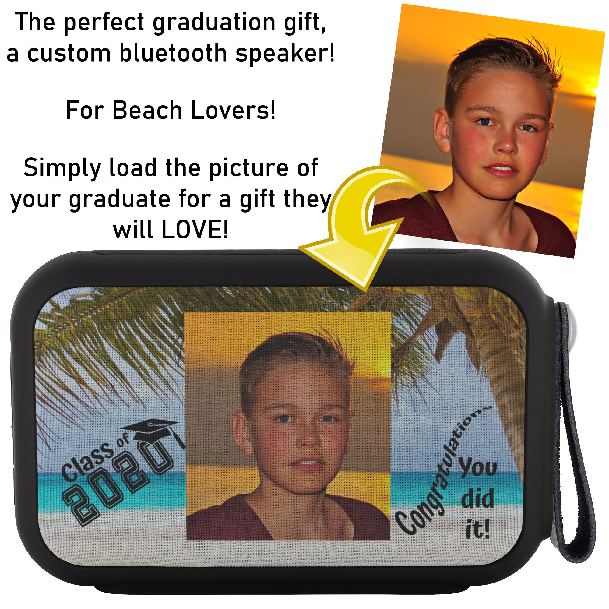 Custom Thumpah Speaker Class of 2020 Beach