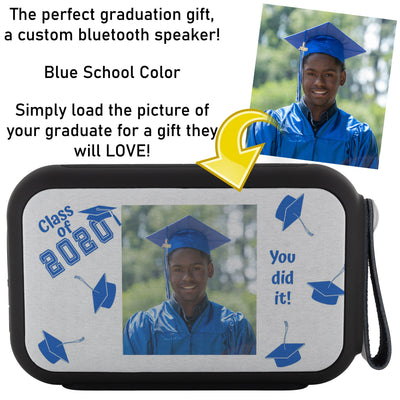 Custom Thumpah Speaker Class of 2020 School Blue