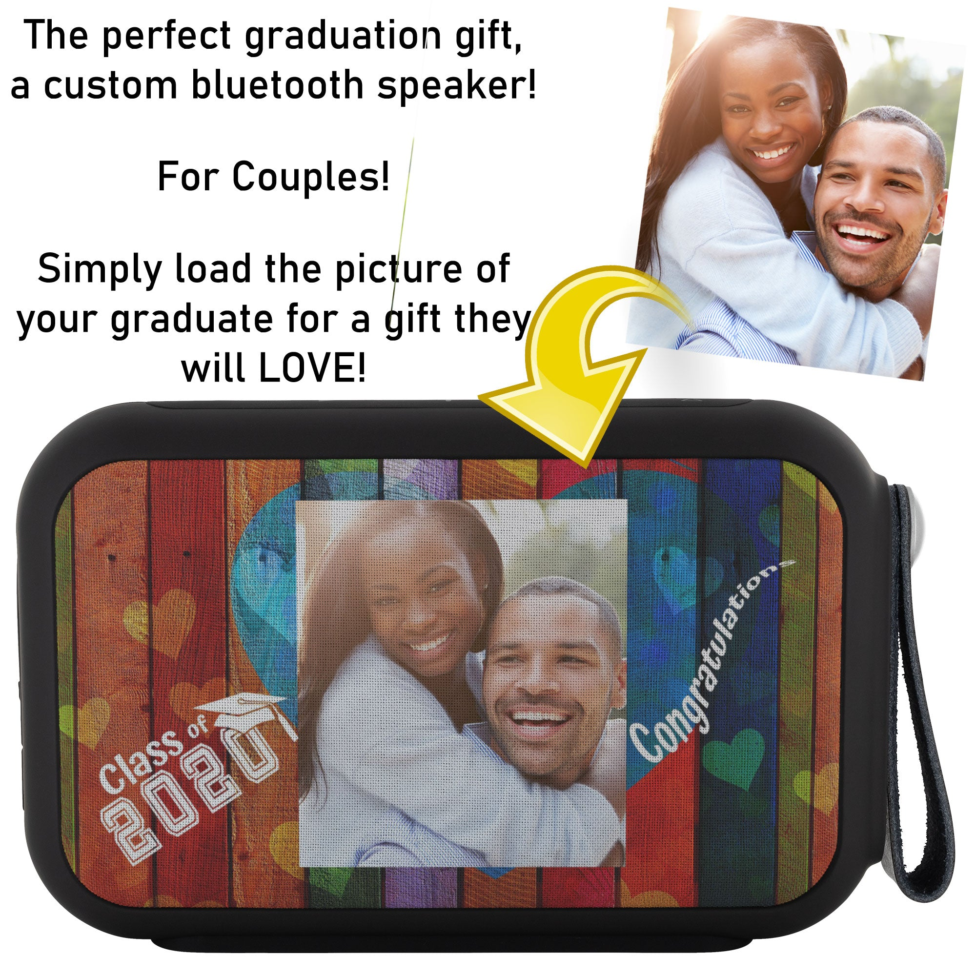 Custom Thumpah Speaker Class of 2020 Couples