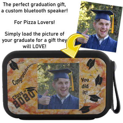 Custom Thumpah Speaker Class of 2020 Pizza