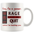Gamer Rage Quit 11oz Mug