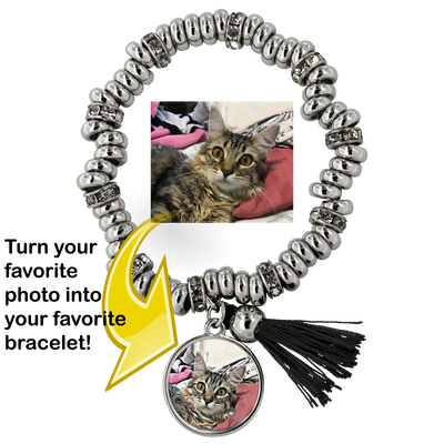 Custom Cat Piper Bracelet