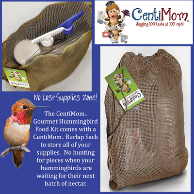 CentiMom Gourmet Hummingbird Food 3-Pound Kit