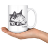 Sleeping Cat 15oz Mug