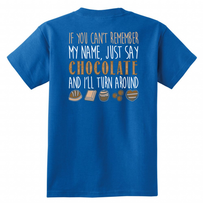Just Say Chocolate