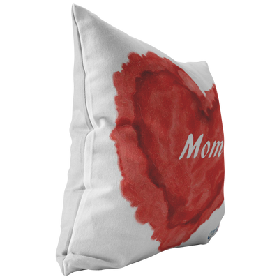 Mom Heart Pillow