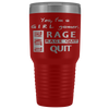 Girl Gamer Rage Quit 30oz Tumbler
