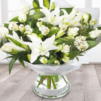 Peace - White, Ivory and Cream Bouquet
