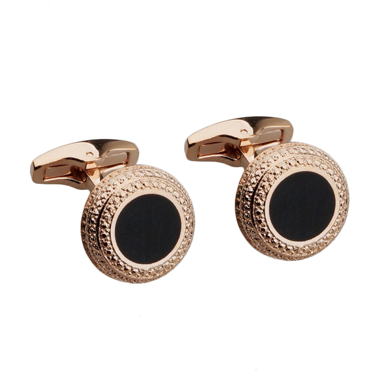 Gold Emerald Cufflinks