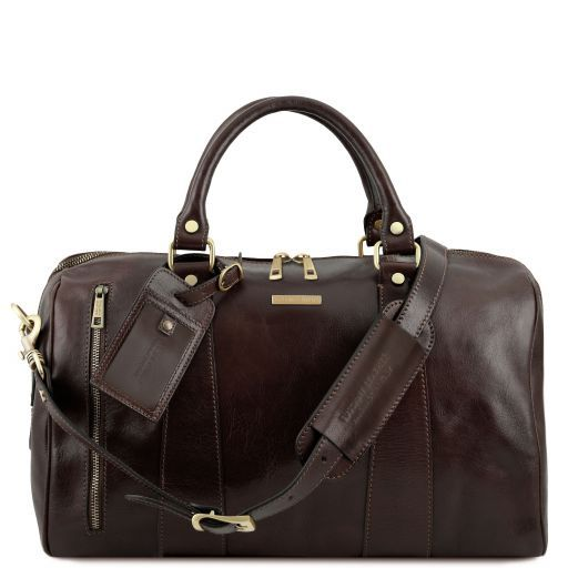 Tuscany Leather TL VOYAGER Travel leather duffle bag - Small