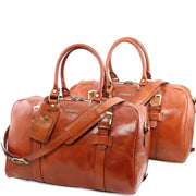 Tuscany Leather VESPUCCI  Leather Travel Set