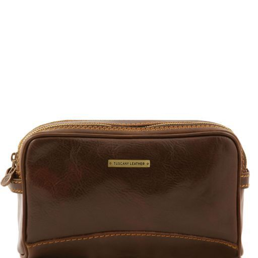 Tuscany Leather IGOR Leather Wash Bag