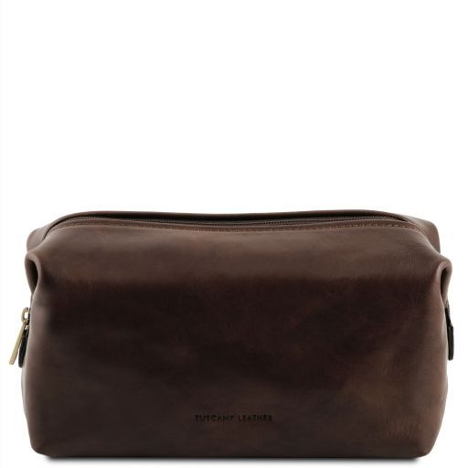 Tuscany Leather SMARTY  Leather Wash Bag - Small