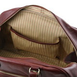 Tuscany Leather TL VOYAGER  Travel Leather Bag- Small