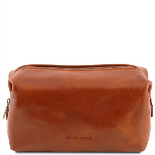 Tuscany Leather SMARTY  Leather Wash Bag - Large