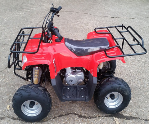JLA-08  110CC 4 STROKE FARM STYLE QUAD BIKE AUTOMATIC, ELECTRIC START& REVERSE