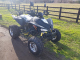 BASHAN WHITE / BLACK  BS250AS-43 250CC ROAD LEGAL QUAD BIKE FUEL INJECTED, EURO 4, 2019 MODEL