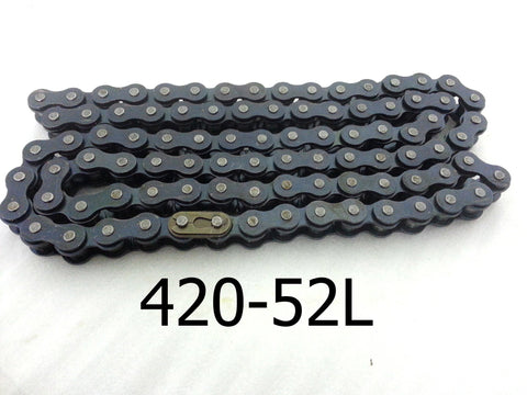420-104  (52 LINK)  CHAIN FOR 50CC 90CC 110CC QUAD BIKE 420 PITCH CHA17 - Orange Imports