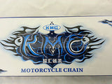 420-100 (50 LINK) KMC HEAVY DUTY DRIVE CHAIN FOR DIRT / PIT BIKES - Orange Imports - 2