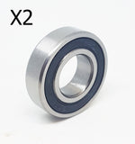 6901-RS RUBBER SEALED BEARING 12 X 24 X 6MM DIRT PIT QUAD BIKE