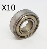 6205-ZZ METAL SHIELDED BEARING 25 X 52 X 15MM DIRT PIT QUAD BIKE