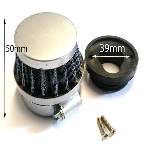 AF012 K&N STYLE AIR FILTER V STACK WITH SCREWS 44MM FOR MINI MOTO