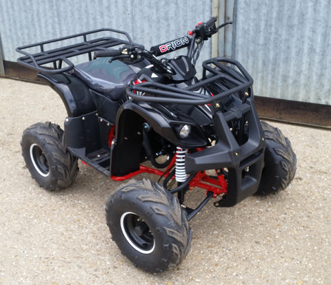 110CC APOLLO ORION QUAD BIKE 4 STROKE ELECTRIC START FORWARD/REVERSE GEAR BLACK OR GREEN - Orange Imports - 2