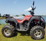 BASHAN RED BS200AU-11B 200CC ROAD LEGAL QUAD BIKE ATV EURO 4 2019 MODEL FULLY AUTO