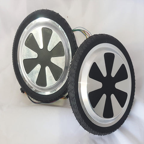 "BB003X2 REPLACEMENT 300w BRUSHLESS 6.5"" WHEEL TYRE WITH MOTOR BALANCE HOVER BOARD"