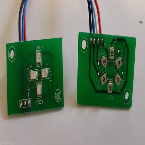 "Specifications:  Set of 2 x Front LED Lights Left and Right  For (3 Pin Green Motherboard Version) For 6.5"" Hover Boards (As in Last Picture) Hover Board IS NOT Included"