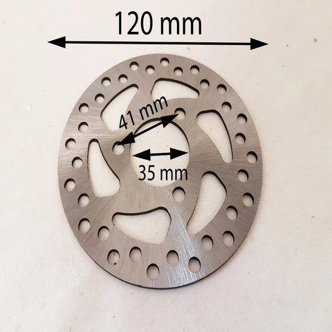 BD028 FRONT BRAKE DISC 120MM FOR 49CC ORION MINI QUAD AGA-20 ABT-005