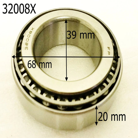 BE030 REAR AXLE BEARING 32008X FOR SPY 250 350 F1 ROAD LEGAL QUAD BIKE - Orange Imports - 1