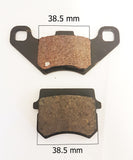 BP001 SET OF BRAKE PADS FOR APACHE / BASHAN QUAD / ATV / DIRT BIKE