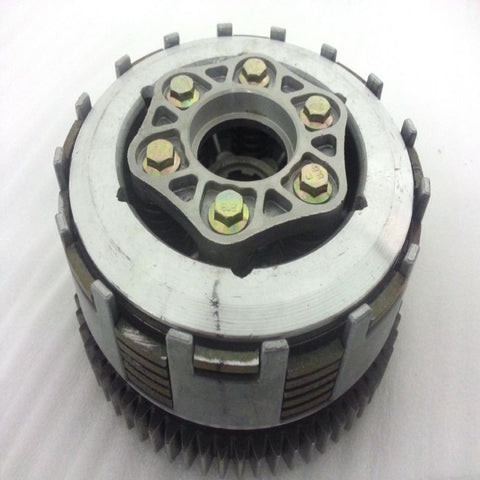CL018 COMPLETE CLUTCH FOR BASHAN BS200S-7 QUAD BIKES - Orange Imports - 1