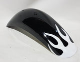 FMD09 MINI DIRT BIKE FAIRING PLASTICS PANELS BLACK / WHITE