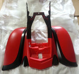 FQBA3 RED / BLACK FRONT AND REAR FAIRING FOR BASHAN BS200S-7 & BS250S-11B - Orange Imports - 3