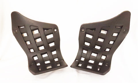 FW008 SET OF HEEL GUARDS FOOT WELLS FAIRINGS FOR 150CC GY6 QUAD BIKE