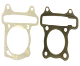 GAS52 GY6 HEAD & BASE GASKET SET FOR MOPED SCOOTER 50CC - 90CC