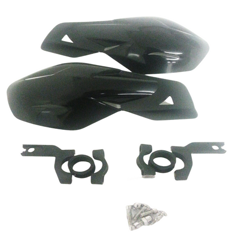 HG02 HAND GUARDS PROTECTOR MOTOCROSS MX BLACK FOR DIRT / PIT BIKE