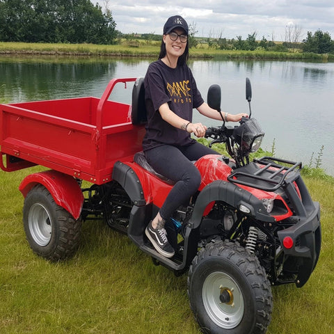 I-GO ATV FARM UTILITY QUAD VEHICLE 200CC TIPPER TRUCK TRACTOR EQUESTRIAN