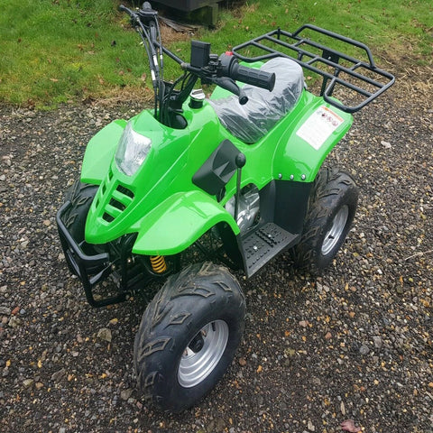 JLA-02 110CC 4 STROKE FARM STYLE QUAD BIKE AUTOMATIC, ELECTRIC START & REVERSE
