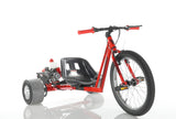 GT-ONE 49CC DRIFT TRIKE AUTOMATIC 2 STROKE ENGINE IN WHITE OR RED - Orange Imports - 1
