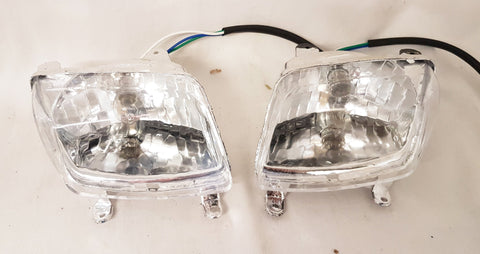 LH014 HEAD LIGHT SET FOR 110CC ORION AGA-4 QUAD BIKE