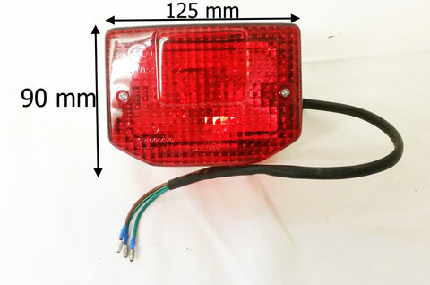 LRB10 REAR BRAKE TAIL LIGHT FOR BASHAN BS200S-3  STH WARRIOR QUAD - Orange Imports - 1