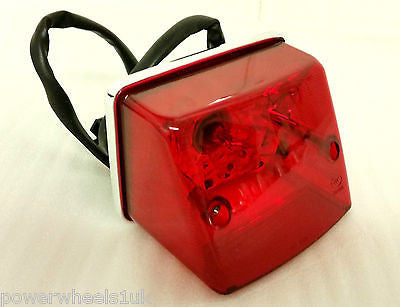 LRB17 REAR BRAKE LIGHT STOP TAIL NUMBER PLATE FOR SPY 250 350F-1 QUAD BIKE - Orange Imports - 1